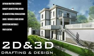 3D VISUALISATIONS / AUTOCAD DRAFTING / GRAPHIC DESIGN Perth Perth City Area Preview