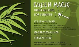 EXPERIENCED FEMALE CLEANER / GARDENING WORKS / IRONING Perth Perth City Area Preview