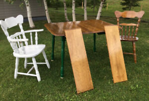 Table an two chair for sale will deliver