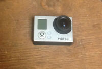 GoPro Hero 3 for sale. 3 months old! comes with accessories