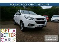 2013 Hyundai Ix35 1.7 CRDi Premium 5dr 2WD - CAR IS £7,999 - £59 PER WEEK ESTATE