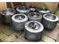 Garden Fire Pits for Sale Upcycled from Washing Machine Drums