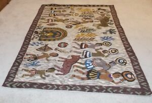 Authentic Hand Woven Tribal Zulu Rug/Tapestry