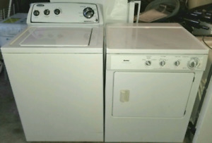 WHIRLPOOL WASHER AND KENMORE DRYER FOR SALE