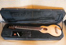 Washburn Rover acoustic travel guitar & soft case