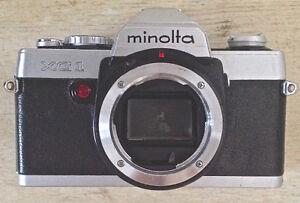 Vintage. Collection. Appareil photo 35mm MINOLTA XG1 boîtier L