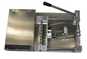 Stainless Steel Multi-Fonction BBQ Manual Rapid Wear Meat Kebab Machine Kitchen 230205
