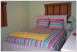 Colourful, Double Comforter in A-1 condition**