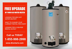 Free Rental Hot Water Heater Upgrade - Call Today - $0