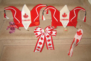 Canada Things - Hats, Light-up Bouncy Ball, Ribbon, etc.