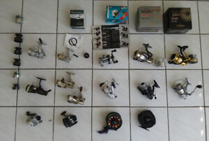 FISHING REELS & SPARE SPOOLS. ( NEW )