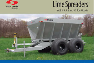 Stoltzfus Lime and Fertilizer Spreaders