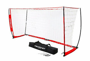 Powernet Soccer Goal 8ft x 4ft Portable Net with Carry Bag - As