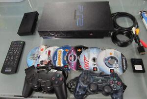Ensemble (a) Playstation 2 Rétro Compatible Playstation One