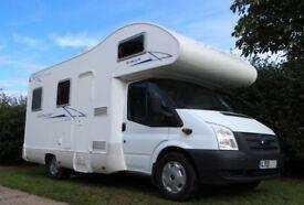 2013 Ford Transit - Rimor Katamarano Motorhome (6 berth) with fixed bed & bunks & many extras