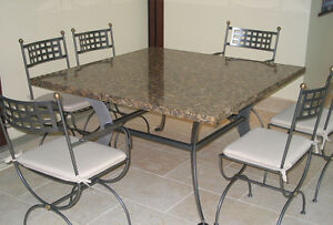 Granite, quartz, marble table tops from $200