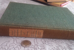 Old Book: Walt Whitman, Leaves of Grass, 1940