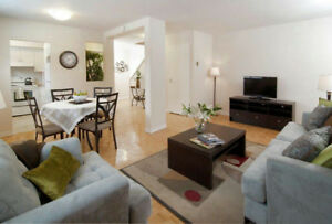 bright & spacious 3 Bedrooms townhouse in west island