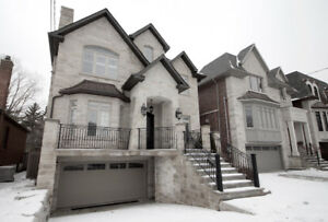 Bayview / Finch Willowdale Custom Built Detached House for Lease