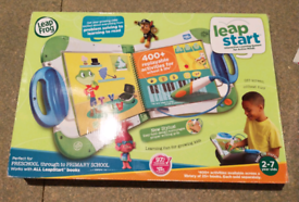 2 items: Leap start educational toys and shape sorter