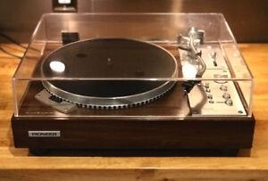 Vintage Pioneer PL-570 TOTL Turntable