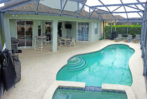 Platinum Rated 5 Bedroom Disney Pool Home with Theatre!! 5*****