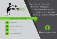 Nettoyage residential et commercial