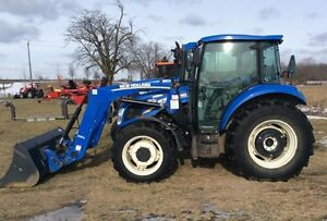 2012 NEW HOLLAND T4.75 TRACTOR LOADER