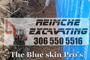 Sewer line Replacement, Grading, Foundation Waterpoofing Regina Regina Area image 8