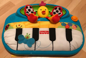Fisher-Price Miracles and Milestones Peek-a-Boo Piano - miss