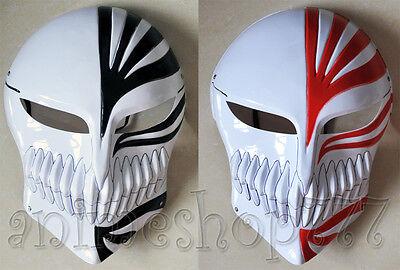 Bleach Ichigo Kurosaki Cosplay Full Hollow Halloween Mask 2 Colors Free Shipping