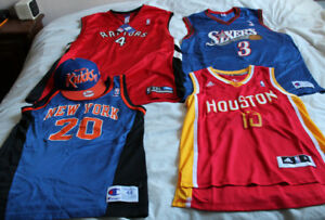 Basketball jersey tanks NBA Houston Rockets NY Philly hat Bosh