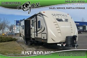 2016 CrossRoads RV Sunset Trail Reserve ST26RB