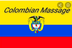 Massage Therapist Latin Colombia