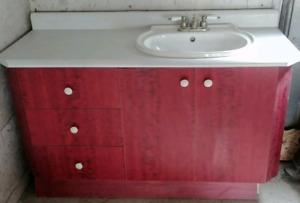 Vanité salle de bain 60 pouce