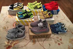 Hype shoes lot multiple sizes