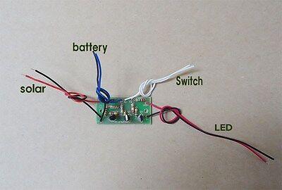 SAVE SOLAR PCB board for Auto Light Kit 3.6V
