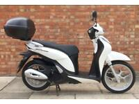 Honda SH mode 125cc (16 REG), Excellent condition, Top box and Heated grips!