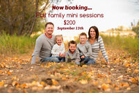 Fall Family Mini Photography Sessions