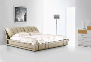 QUEEN BED FRAME SAN FRANCISCO (WHITE) - FACTORY DIRECT
