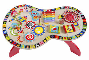 Alex Toys Jr. Sound and Play Busy Table with 8 Activities!
