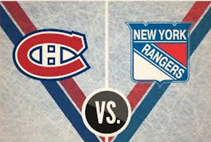 Canadiens / Rangers NY match #7 Desjardins 24 avril