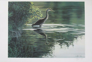 Beautiful Limited Edition Lithograph Print by Cyril Cox!