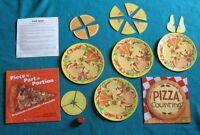 Math Books and Pizza Fruit Salad Fractions activity