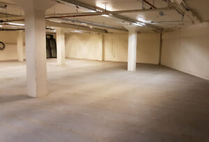 Basement Space Available For Lease in West London