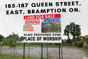 LAND FOR SALE !