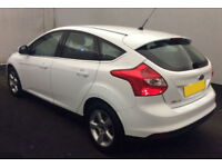 2014 FORD FOCUS 1.6 TDCI ZETEC NAVIGATOR GOOD BAD CREDIT CAR FINANCE FROM 34 P/W