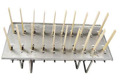 Hot-sale Type 1 Stainless Steel Ice Lolly Mold 20pcs(For ice cream forming)New