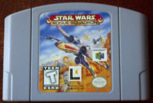N64 - Star Wars Rogue Squadron and Wrestlemania 2000