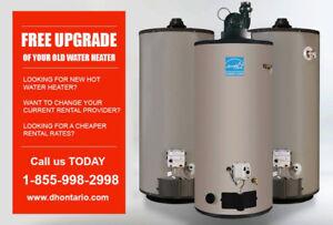 Hot Water Heater Rental - Reduced Rental Rates - ONTARIO
